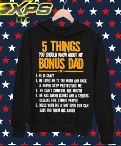 5 things You should know about my Bonus Dad hoodie
