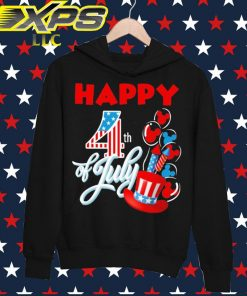 America Happy 4th of July hoodie