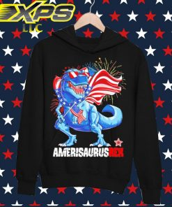 AmerisaurusRex happy 4th of July hoodie