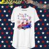 Car America Happy 4th of July shirt