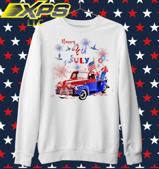 Car America Happy 4th of July sweater