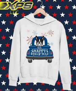 French Bulldog Happy 4th of July hoodie