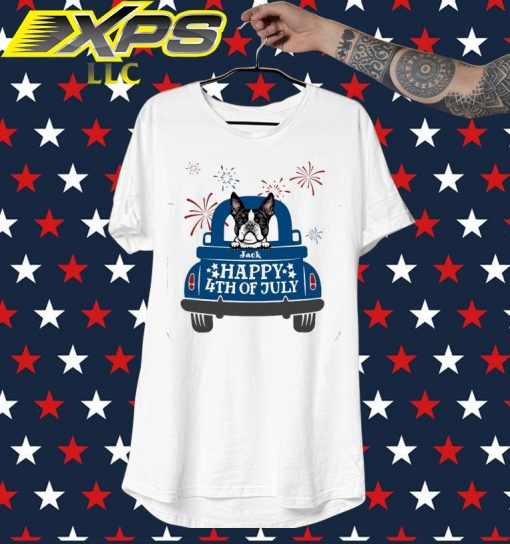French Bulldog Happy 4th of July shirt