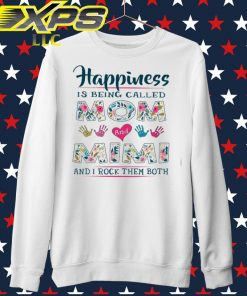 Happiness is being called Mom and Mimi and I rock them both sweater