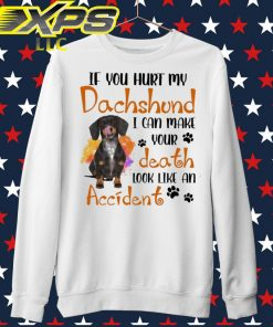 If You hurt My Dachshund I can make Your death look like an Accident sweater