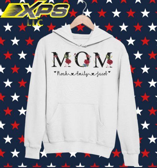 Mom Noah Emily Jacob hoodie