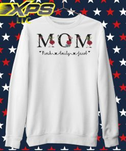 Mom Noah Emily Jacob sweater
