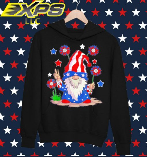 The Gnome happy 4th of July hoodie