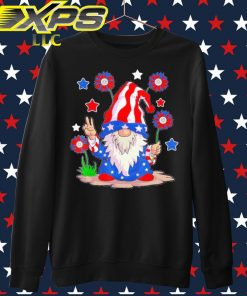 The Gnome happy 4th of July sweater
