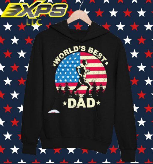 World's best Dad vintage hoodie